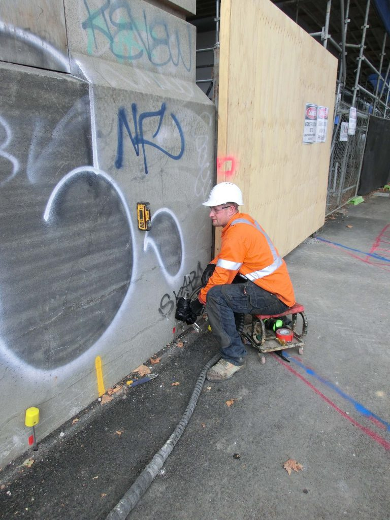 Port Melbourne heritage building The Block-resin injection