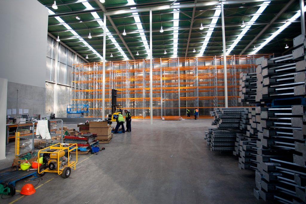 Warehouse factory teretek