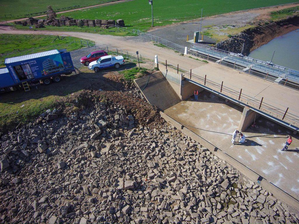 Murray irrigation void fill