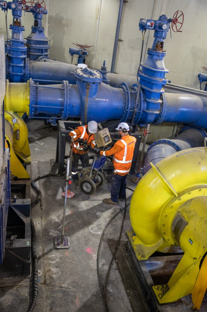 seaview wastewater treatment plant getting treated by Mainmark's Terefirm