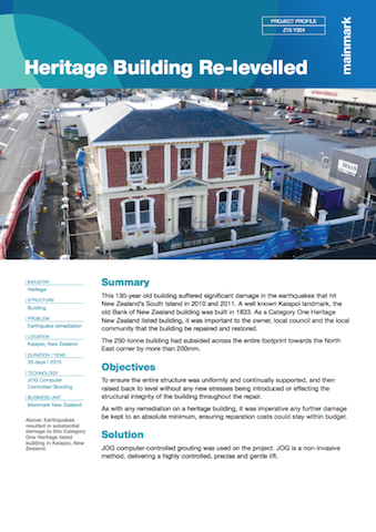 Heritage-building-re-levelled