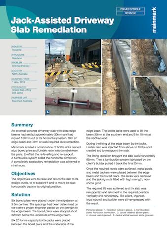 Jack-assisted-driveway-slab-remediation