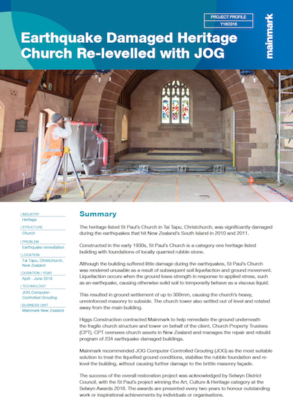 Earthquake-Damaged-Heritage-Church-Re-levelled-with-JOG