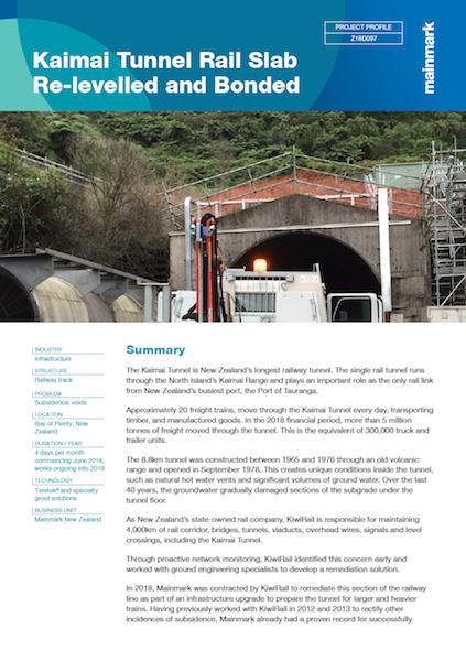 Kaimai-Tunnel-Rail-Slab-Re-levelled-and-Bonded