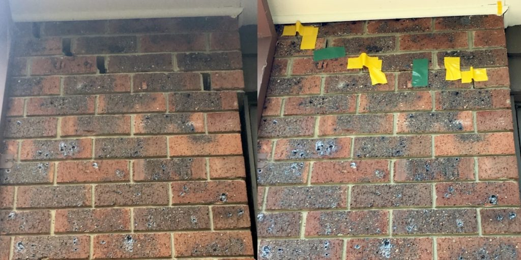 Cracked Walls BEFORE AND AFTER 3