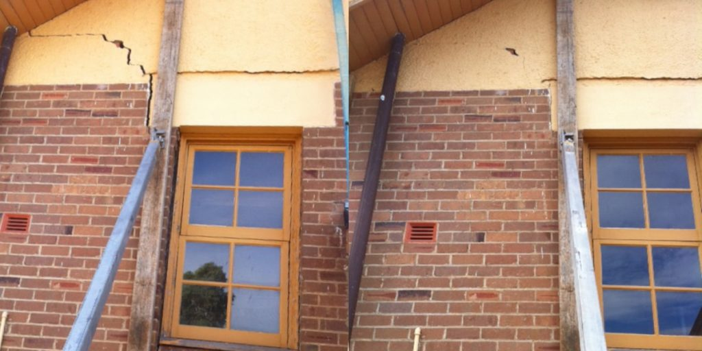 Cracked Walls BEFORE AND AFTER 5