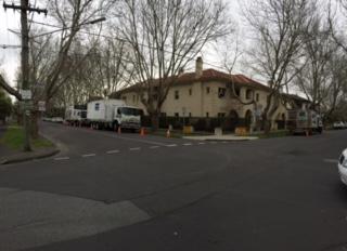 Cracks closed in Elwood apartments